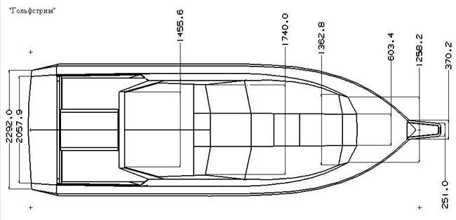 Чертежи кораблика для завоза прикормки своими руками 63